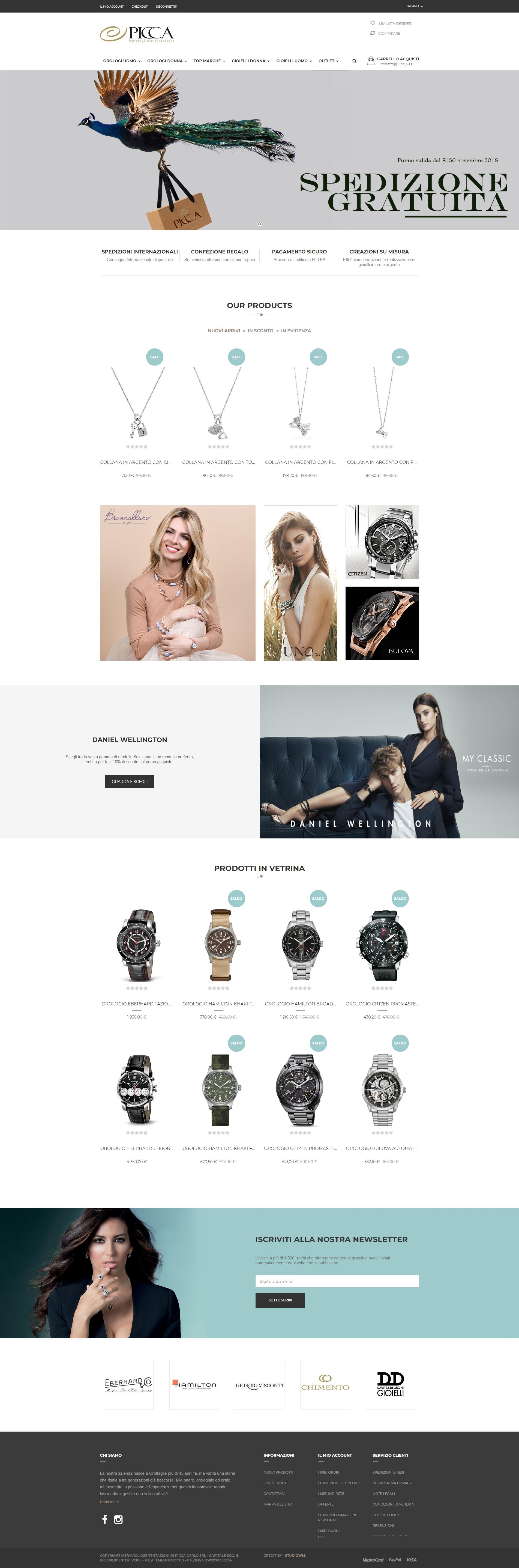 Picca Gioielli Vendita online di gioielli e orologi delle migliori marche Gioielli online Picca Gioielli